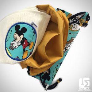 Mochila Saco Mickey Mouse Inasona