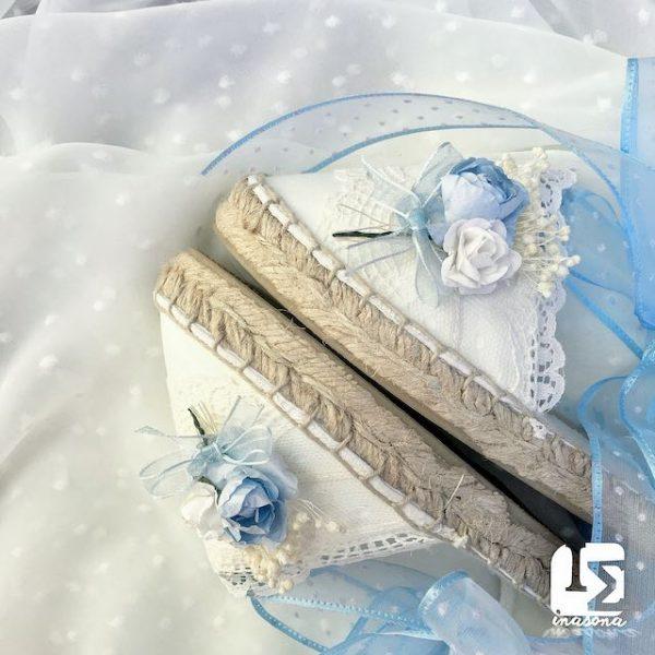 alpargatas novia boda Inasona