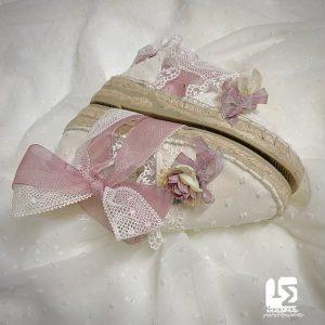 Esparteñas para novia - damas de honor